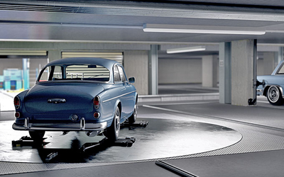 Lödige Industries wins contract to build fully automated classic car storage system in Munich